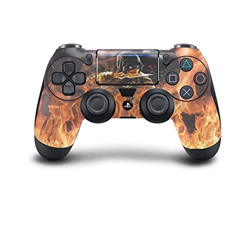 ss Controller Pro Konsole - Neueste PlayStation4 Controller mit weichem Griff und exklusiver individueller Version Skin (Mortal Kombat Scorpion) ()