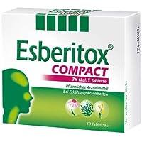 Esberitox Compact (to go) Spar Set: 2 x 40 St. verkürzt die Erkältung, Pflanzenpower gegen die Erkältung,mit drei... preisvergleich bei billige-tabletten.eu