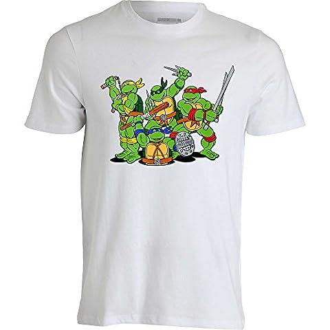 TSHK Men's T-Shirt White White - White -