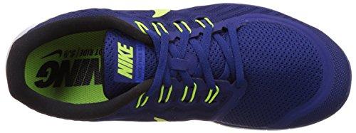Nike Herren Free 5.0 Sneakers Blau (407 DP ROYAL BLUE/VLT-RCR BL-WHITE)