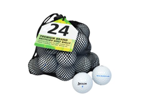 Second Chance Srixon Ad 333 24 Premium Lake Golf Balls (Grade A)