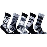 NiceButy 5 de Parejas, Hombres de algodón Calcetines de los Deportes Transpirable Cojín Rendimiento Deportivo Calcetines de Running de Entrenamiento Calcetines de Tobillo Hombres (Color al Azar)