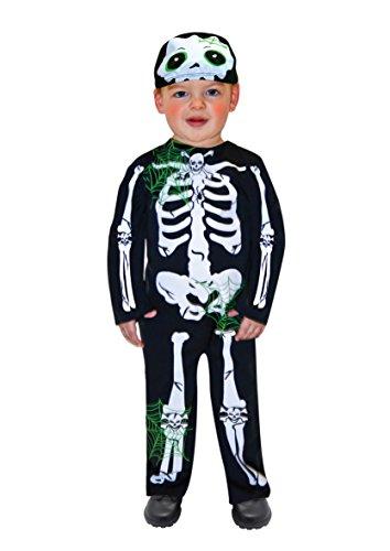 Kostüm Kleines Skelett 1-2 Jahre