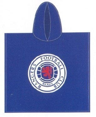 Rangers F.C. Towelling Hooded Poncho