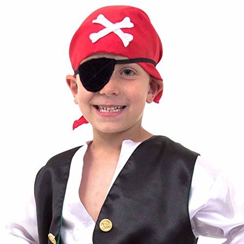 Imagen 1 de Lucy Locket - Disfraz de pirata para niño (5-6 años)