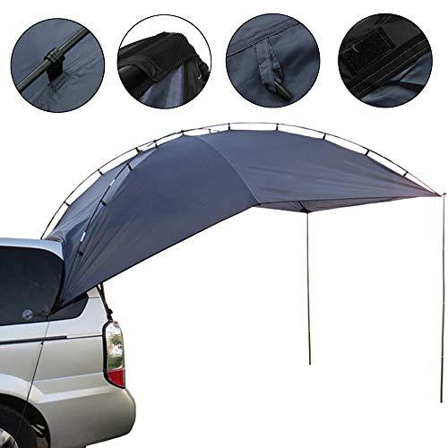 ZJY Schweres Multifunktions-Anhängerzelt, Markise Sun Shelter - Wasserdicht, UV-beständig, reißfest - Geeignet für Camping Barbecue Beach SUV MPV Limousine (Baldachin Wagen)
