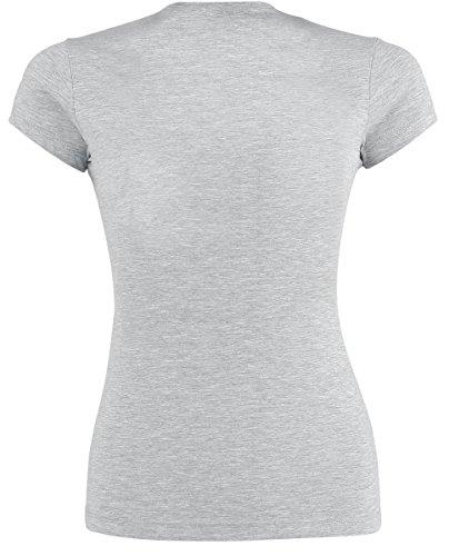 Minions High Five T-shirt Femme gris chiné gris chiné