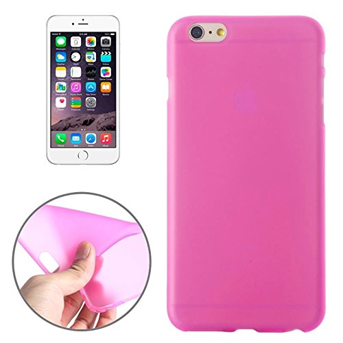 Phone case & Hülle Für iPhone 6 Plus / 6S Plus, Frosted TPU Fall ( Color : Purple ) Magenta