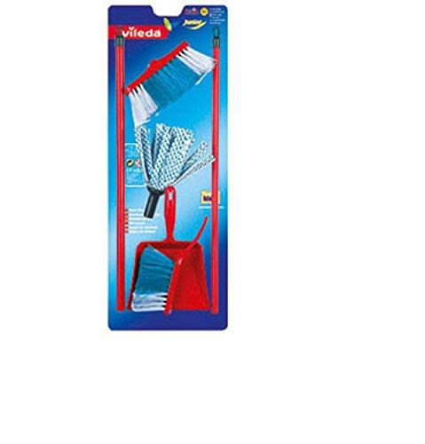 Wischmop Set / Kehr Garnitur / 4 teilig für Kinder / Kinder Spielzeug / mit Besen Wischmop und Handfeger und Schaufel