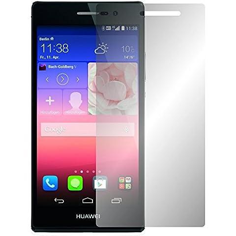 2 x Slabo protector de pantalla Huawei Ascend P7 lámina protectora de pantalla lámina protectora