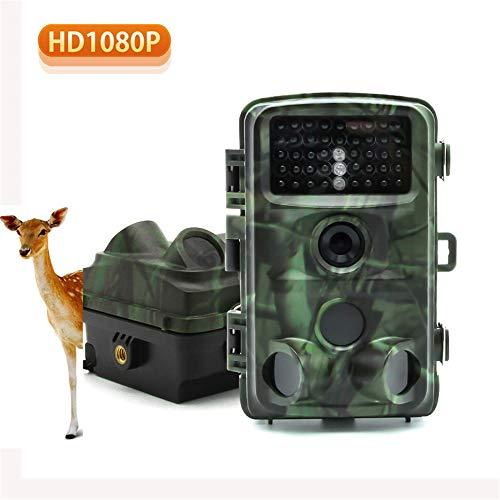 MCJL Jagdkamera, Wildlife Tracking 12MP 1080P Infrarot-Nachtsicht-20M-Aktionsaktivierung 120 °-Erkennung 0,2S Trigger für die Überwachung der Sicherheit zu Hause