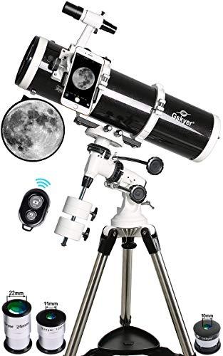 Gskyer Telescope, 130Eq Telescopio Reflector astronómico