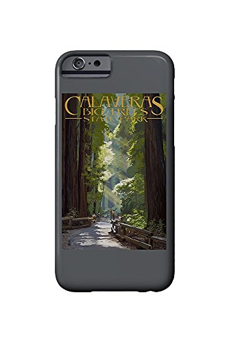 Calaveras Big Trees State Park, California - Pathway in Trees (iPhone 6 Cell Phone Case, Slim Barely There) -