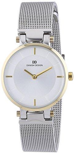 Danish Design - Orologio da polso, analogico al quarzo, acciaio INOX, Donna