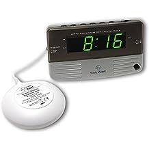 Geemarc Bedside Traveler Wecker mit Vibration (95 dB)