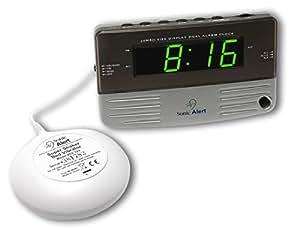 Sonic Alert SB200SS-VDE Réveil numerique avec Vibreur