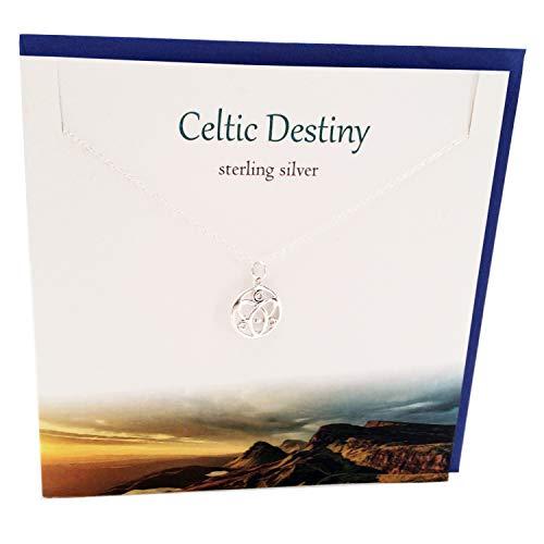 ltic Destiny Knot Halskette Anhänger Karte & Geschenkset ()