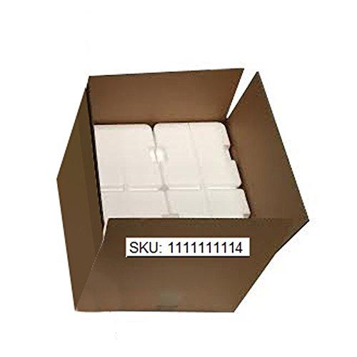 SPEED Styroporbox Styroporkiste Thermobox für 4pcs aptamil 800g canned Milchpulver