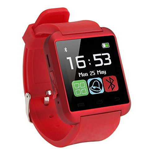 HTC Evo 3D COMPATIBLE Smart Android U8 Bracelet U Watch and Activity Wristband, Wireless Bluetooth Connectivity Pedometer Android/IOS Mobile Phone Wrist Watch Phone with activity trackers and fitness band features by VELL- TECH  available at amazon for Rs.799