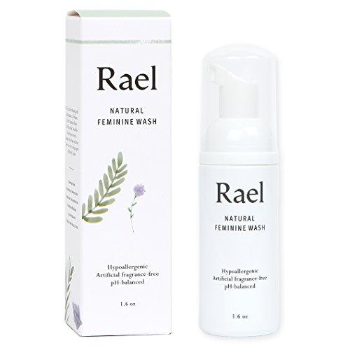 Rael Natural Feminine Purifying Cleanser - 50ml - Für empfindliche Haut - Leichter und frischer Duft (3er-Pack)