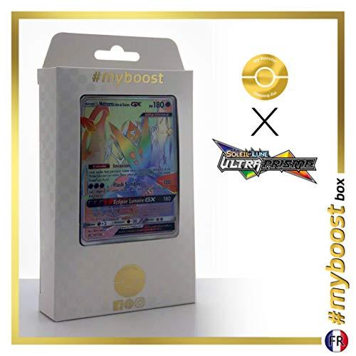 Necrozma Ailes de l'Aurore-GX (Dawn Wings Necrozma-GX) 161/156 Arcobaleno Segreto - #myboost X Soleil & Lune 5 Ultra-Prisme - Box di 10 Carte Pokémon Francese