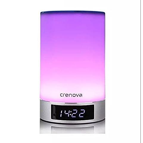 FYN lumières lampe Bluetooth Audio LED Veilleuse Creative Bluetooth Audio lampe tactile intelligente gradateur musique Colorful