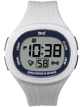 Everlast Unisex Armbanduhr 33-502DG Digital Quarz Kunststoff weiß EV - 502-103