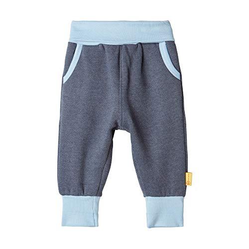 Steiff Baby-Jungen Hose, Blau (BLACK IRIS 3032), 86 (Herstellergröße:86)