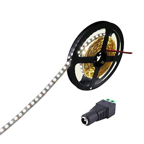 JOYLIT Tiras LED 24V Blanco frío 6000-6500K 300 LEDs SMD5050 IP20 NO Impermeable 5 metros