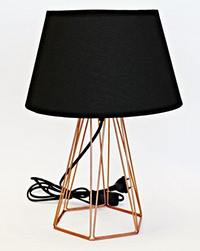 Deltabrinca Lights - Lámpara de Mesa Cobre