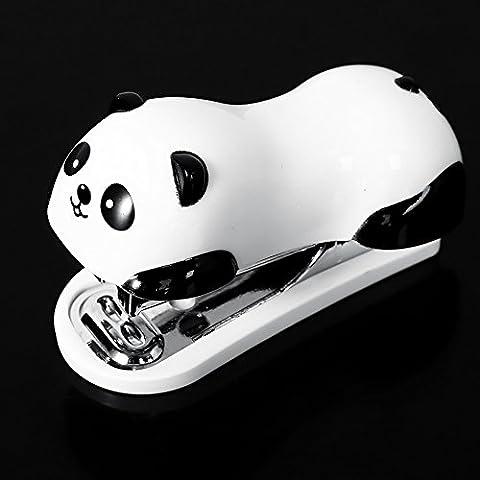 Bei Wang Panda linda Mini escritorio grapadora y Manos Grapa grapadora Home / Office grapadora