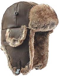 2e94494d01dcb Janey Rubbins Russian Soviet Ushanka Cossack Aviator Bomber Hat Winter Fur  Earflap Cap