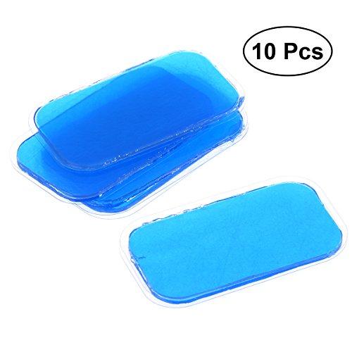 ULTNICE Adesivi per elettrodi Elettrostimolatore muscoli addominali in gel blu 10PCS
