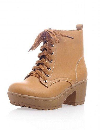 ShangYi Mode Frauen Schuhe Damen Schuhe Frühjahr / Herbst / WinterHeels / Cowboy Stiefel / Schnee / Reitstiefel / Mode / Schuhe / Stiefel Motorrad Beige