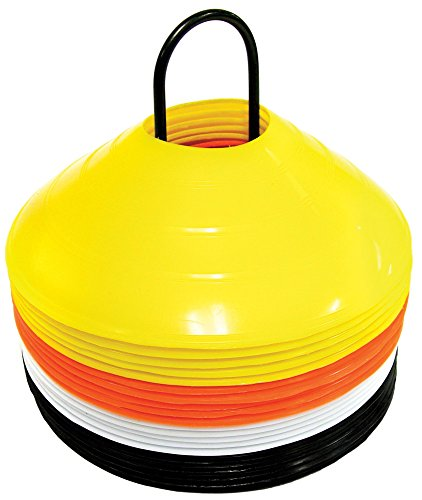 SKLZ Hütchenset Agility Cone Set - 20 Markierungshütchen, mehrfarbig