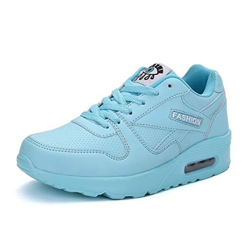 Zapatillas de Deporte para Mujer al Aire Libre Primavera otoño Zapatos Deportivos Ocasionales Zapatillas de Deporte para Caminar Zapatillas con Cordones