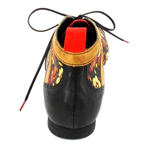 Think Guad, Stivali Desert Boots Donna Nero