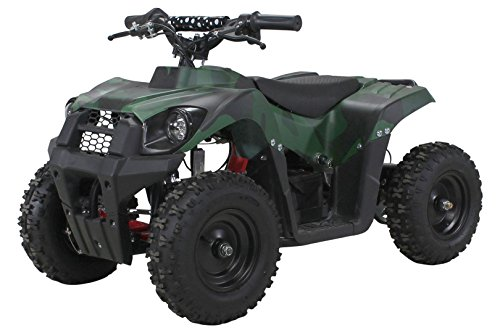 Actionbikes Motors Elektro Kinder Miniquad Tiger EA21 1000 Watt Pocket Quad Kinderquad Kinderfahrzeug ... (Camouflage)