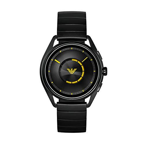 Foto Emporio Armani Smartwatch Uomo con Cinturino in Acciaio Inox ART5007