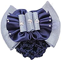 Haarspange/Haarspange / Haarspange mit Schleife, Blau