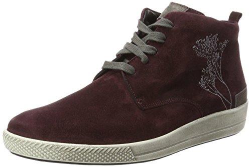 Ganter Damen Giulietta-G Hohe Sneaker Rot (Vino/Graphit)