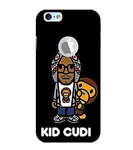EPICCASE kid cudi Mobile Back Case Cover For Apple iPhone 6, 6S Logo Cut (Designer Case)