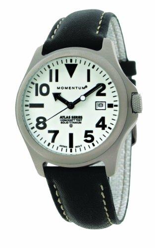 Momentum - 1M-SP00W2B - Montre Homme - Quartz Analogique - Bracelet Cuir Noir