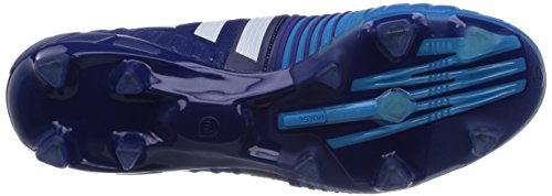 adidas Nitrocharge 1.0 Firm Ground Herren Fußballschuhe Blau (Amazon Purple F14/Ftwr White/Solar Blue2 S14)