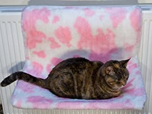 Radiator Hammock Cat Bed From ExtraComfort 54x36cm (21x14 inches). Virtually Indestructable Frame! Guaranteed for 10 Years! by ExtraComfort