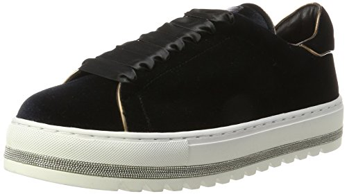 Steffen Schraut Damen 55 Chain Road Sneaker, Schwarz (Black), 39 - Luxus-sneakers