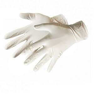 Silverline 980918 Lot de 100 Gants latex Grande taille