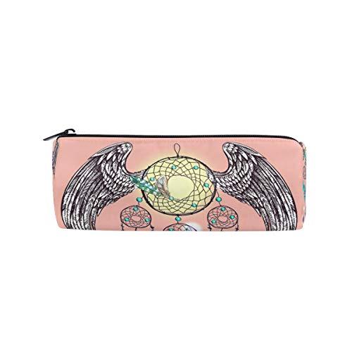Ahomy atrapasueños con alas, estuche para lápices, bolsa de papelería, bolsa de cosméticos, bolsa de almacenamiento