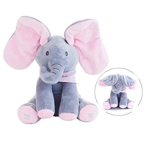 ch Stofftiere Peek A Boo Pal Animierte Interaktive Elektronische Puppe Versteckspielzeug für Kleinkinder Geburtstag ()