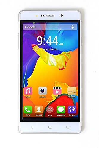 Goodone Z7+7 Android 4g Smart Phone All 4g Sim Supported ( Jio Sim Not Support ) 5.5 Inch Ips Qhd Display 6.0 Marshmallow 2 Gb Ram 16 Gb Internal Memory Dual Sim Dual Camera With Dual Front & Back Flash Light Smartphone (white)